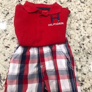 Tommy Hilfinger Short Set 18 months